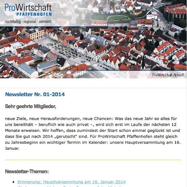 Newsletter 01-2014