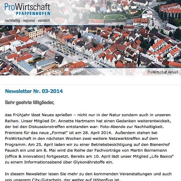 Newsletter 03-2014